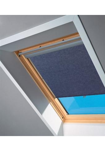 VELUX Sichtschutzrollo , für Fenstergröße UK04/ - 08/ - 10, U04/ - 08/ - 10, 808, 810, blau kaufen