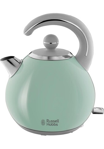 RUSSELL HOBBS Wasserkocher, Bubble Soft Green 24404 - 70, 1,5 Liter, 2300 Watt kaufen