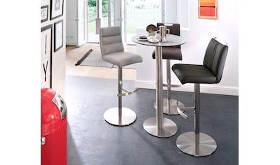 MCA furniture Bartisch »Zarina«, Bartisch mit Glaskeramik Tischplatte mit Edelstahl... kaufen