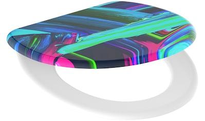 Schütte WC-Sitz »Neon Paint«, mit Absenkautomatik kaufen