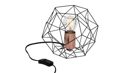 Brilliant Leuchten Synergy Tischleuchte schwarz/kupfer kaufen