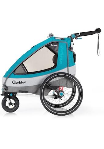 Qeridoo Fahrradkinderanhänger »SPORTREX 1« kaufen