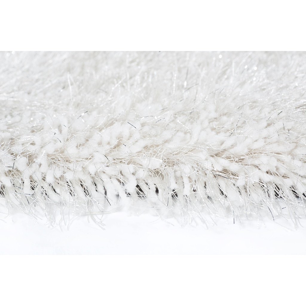 LUXOR living Hochflor-Teppich »Levanto Deluxe«, rund, 58 mm Höhe, mit Glanzgarn, Wohnzimmer