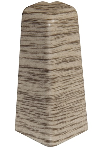 EGGER Außenecke »Eiche graubraun«, Außeneck - Element für 6 cm Sockelleiste, 2 Stk kaufen