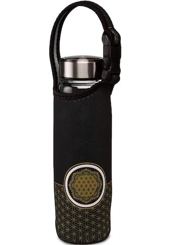 Goebel Trinkflasche »Yin Yang«, (mit Haltegurt), Borosilikatflasche mit... kaufen