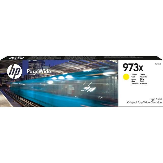 HP »hp 973X Original Gelb« Tintenpatrone (1-tlg.)