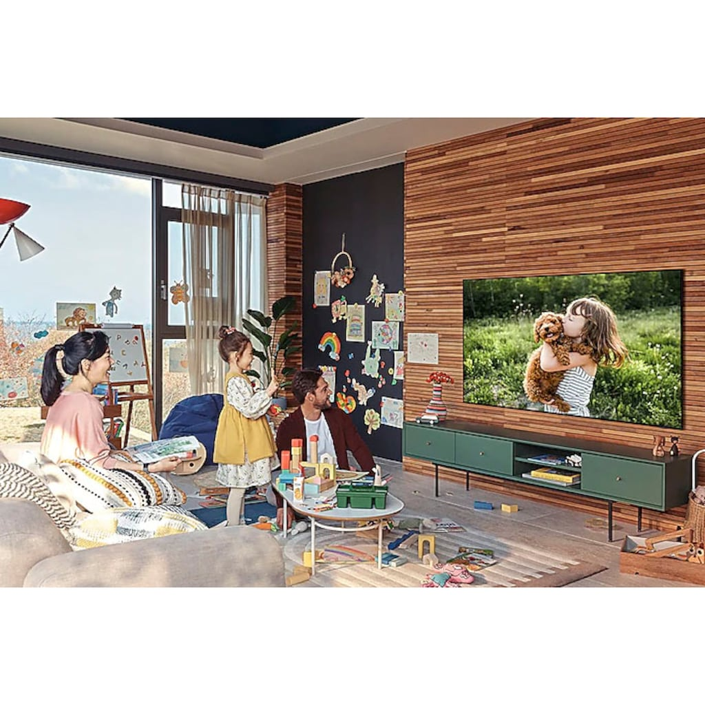 "Samsung QLED-Fernseher »GQ85Q60AAU«, 214 cm/85 "", 4K Ultra HD, Smart-TV"