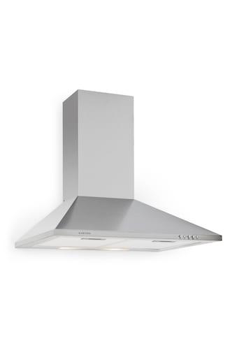 Klarstein Dunstabzugshaube 60 Umluft mit Filter Edelstahl Beleuchtung »TK15 TR60WS« kaufen