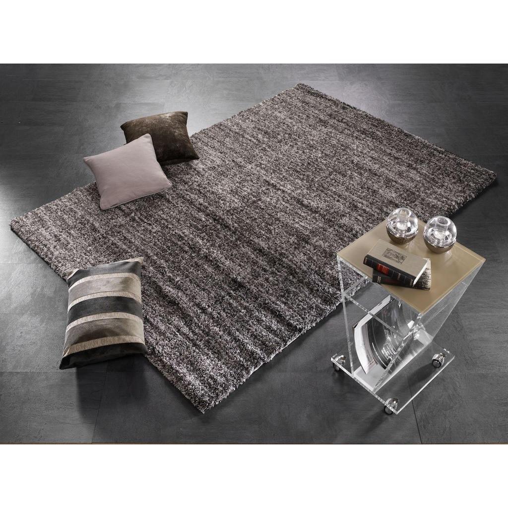 OCI DIE TEPPICHMARKE Hochflor-Teppich »Adamo Stipes«, rechteckig, 30 mm Höhe, Besonders weich durch Microfaser