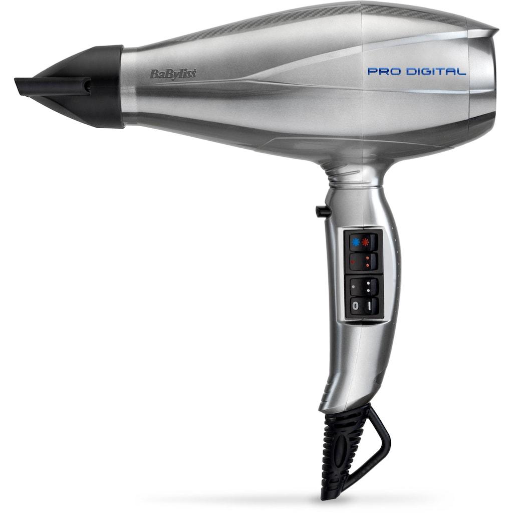 BaByliss Haartrockner »6000E«, 2200 W, 3 Aufsätze, Luftgeschwindigkeit von 208 km/h