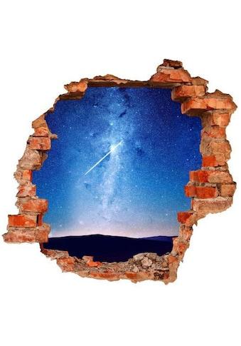 Wall-Art Wandtattoo »Sterne Sticker 3D Mond Himmel« kaufen