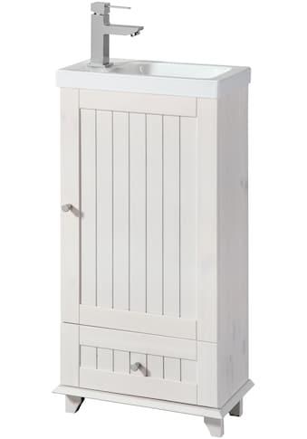 WELLTIME Waschtisch »Venezia«, Landhaus, Breite 45 cm, aus Massivholz kaufen