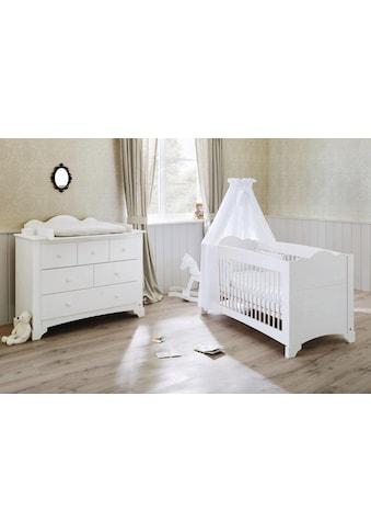 Pinolino® Babymöbel-Set »Pino«, (Spar-Set, 2 St.), breit; Made in Europe; mit... kaufen