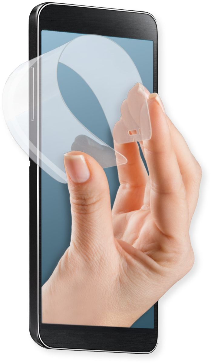 4Smarts Folie »Hybrid Flex-Glass Screen Protector für iPhone 7«