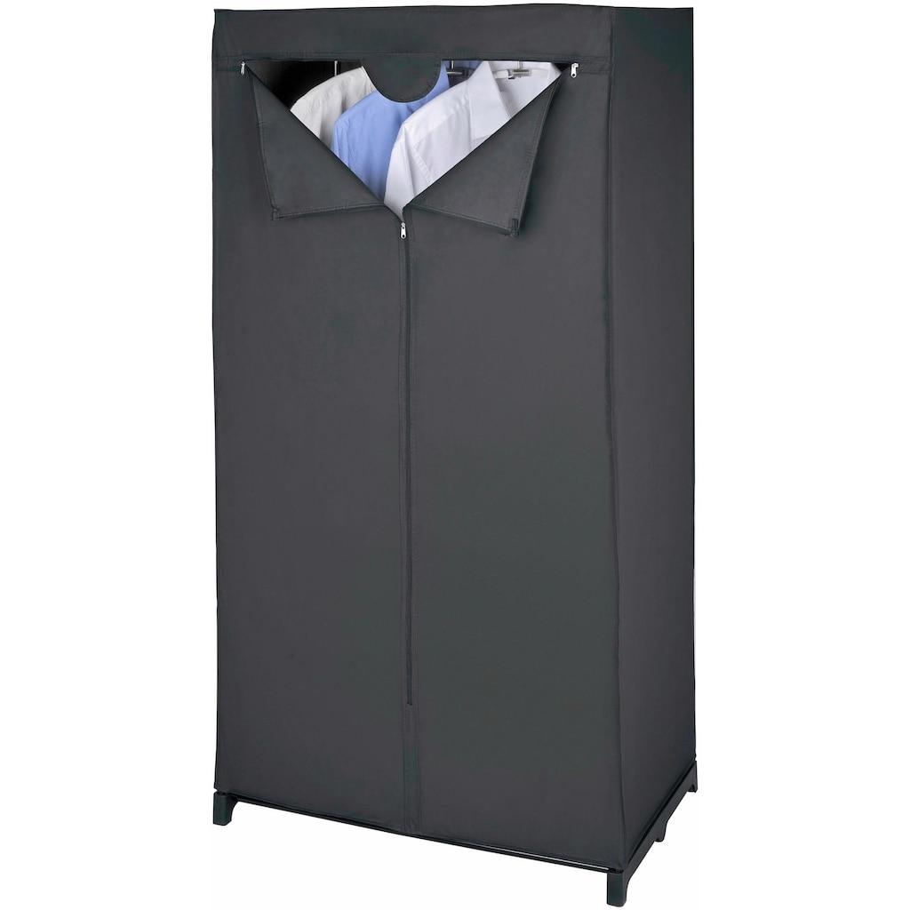WENKO Kleiderschrank »Deep Black«, Maße (B x H x T): 75 x 150 x 50 cm