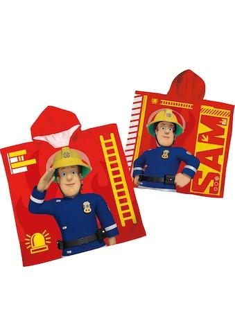 """Badeponcho """"Feuerwehrmann Sam"""", Feuerwehrmann Sam kaufen"""