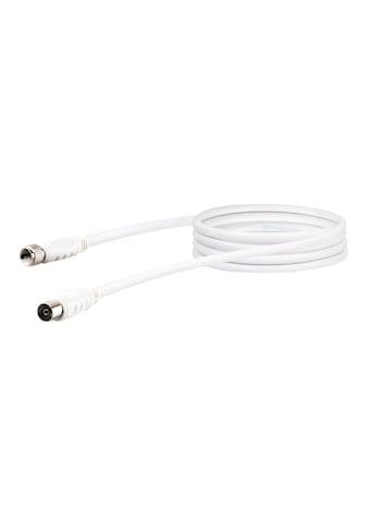 SCHWAIGER HDTV Satelliten-/ Antennenadapterkabel, 2-fach geschirmt »F-Stecker zu IEC... kaufen