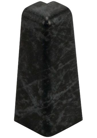 EGGER Außenecke »Stein schwarz«, Außeneck - Element für 6cm EGGER Sockelleiste, 2 Stk. kaufen