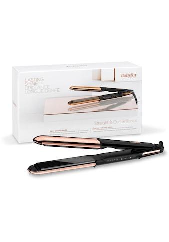 BaByliss Glätteisen »ST482E Straight & Curl Brilliance«, Titan-Beschichtung, 2-in-1 Glätteisen kaufen