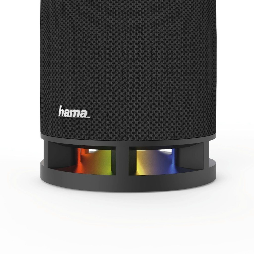 Hama Tragbare Bluetooth Lautsprecher Box, kabellos/16W/AUX/USB