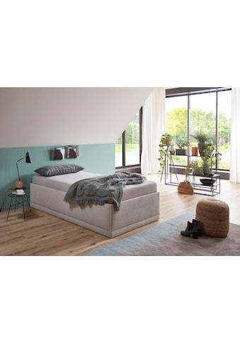 Westfalia Schlafkomfort Polsterbett »Texel«, mit Zierkissen, Komforthöhe kaufen