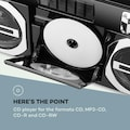 Auna Retro-Player CD BT USB MP3 UKW Teleskopantenne »BB2-Oldschool-Player«