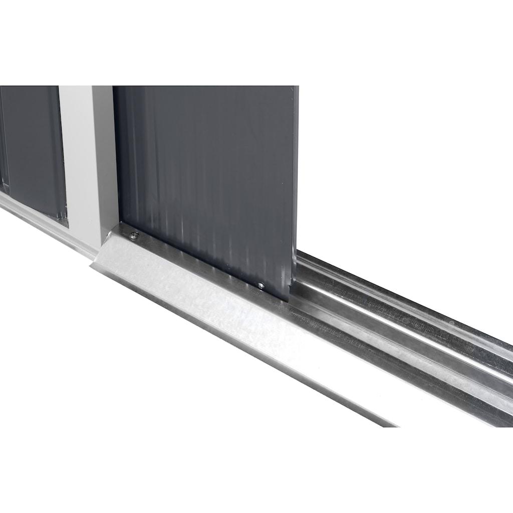 KONIFERA Gerätehaus »Archer Plus D«, mit Bodenrahmen