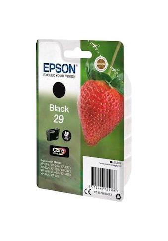 Epson »T2981, 29 Original Schwarz C13T29814012« Tintenpatrone kaufen