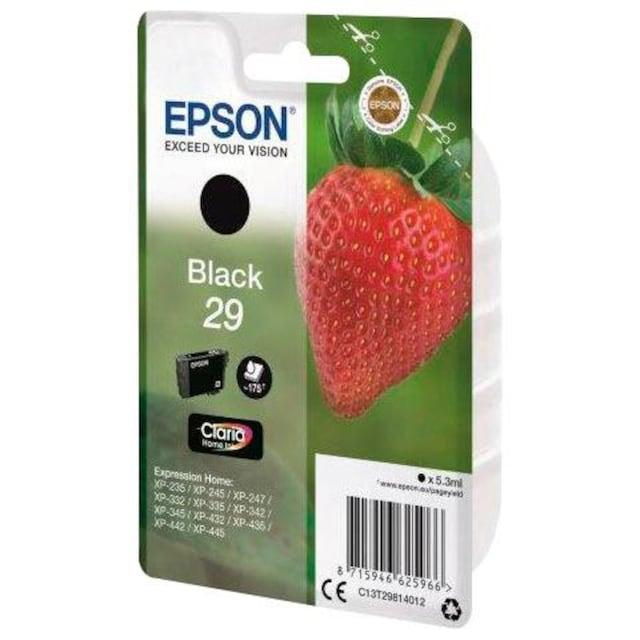 Epson »T2981, 29 Original Schwarz C13T29814012« Tintenpatrone