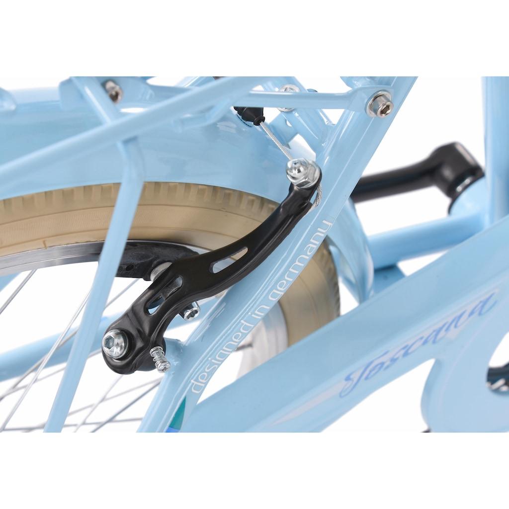 KS Cycling Jugendfahrrad »Toscana«, 6 Gang Shimano Tourney Schaltwerk, Kettenschaltung
