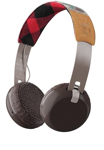 Skullcandy Headset »GRIND ON - EAR Wireless W/TAP TECH TAN/CAMO/BROWN« kaufen