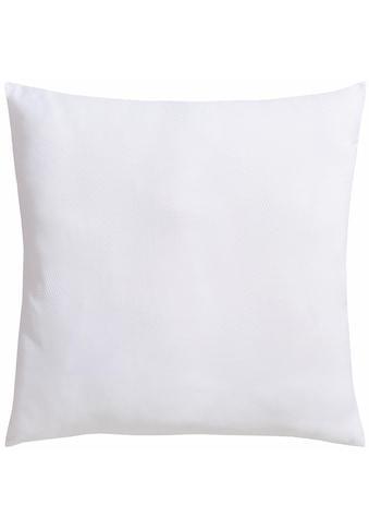 RIBECO Microfaserkissen »Seersucker Jana«, Füllung: Polyester, Bezug: Polyester, (1... kaufen