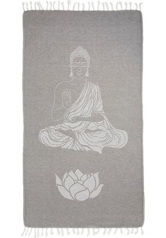 Seahorse Hamamtuch »Buddha«, (1 St.), mit Wellness Motiven kaufen