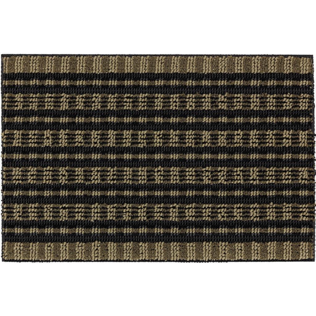 ASTRA Fußmatte »Poly Brush 250«, rechteckig, 14 mm Höhe, Schmutzfangmatte, In -und Outdoor geeignet