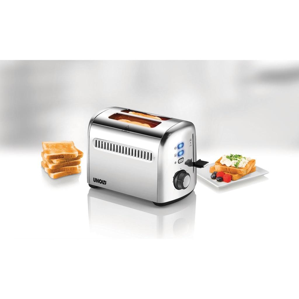 Unold Toaster »2er Retro 38326«, 950 Watt