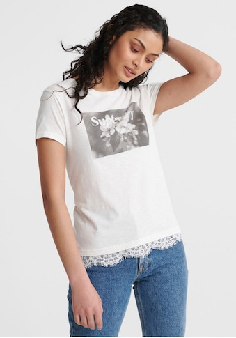 Superdry T - Shirt »TILLY LACE GRAPHIC TEE« kaufen
