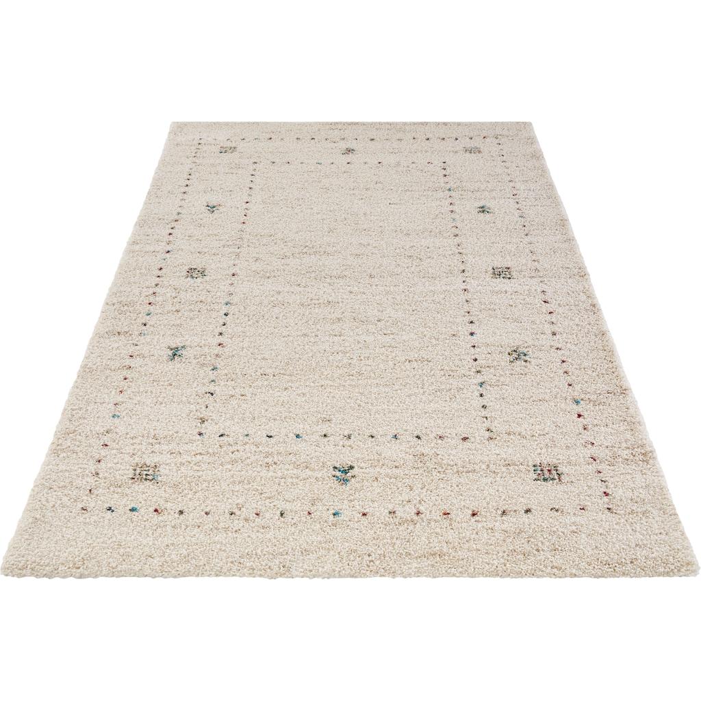 MINT RUGS Hochflor-Teppich »TEO«, rechteckig, 30 mm Höhe, besonders weich durch Microfaser, Wohnzimmer