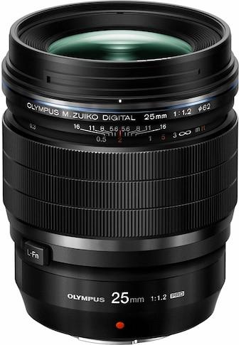 Olympus Festbrennweiteobjektiv »M.ZUIKO 25 mm PRO« kaufen