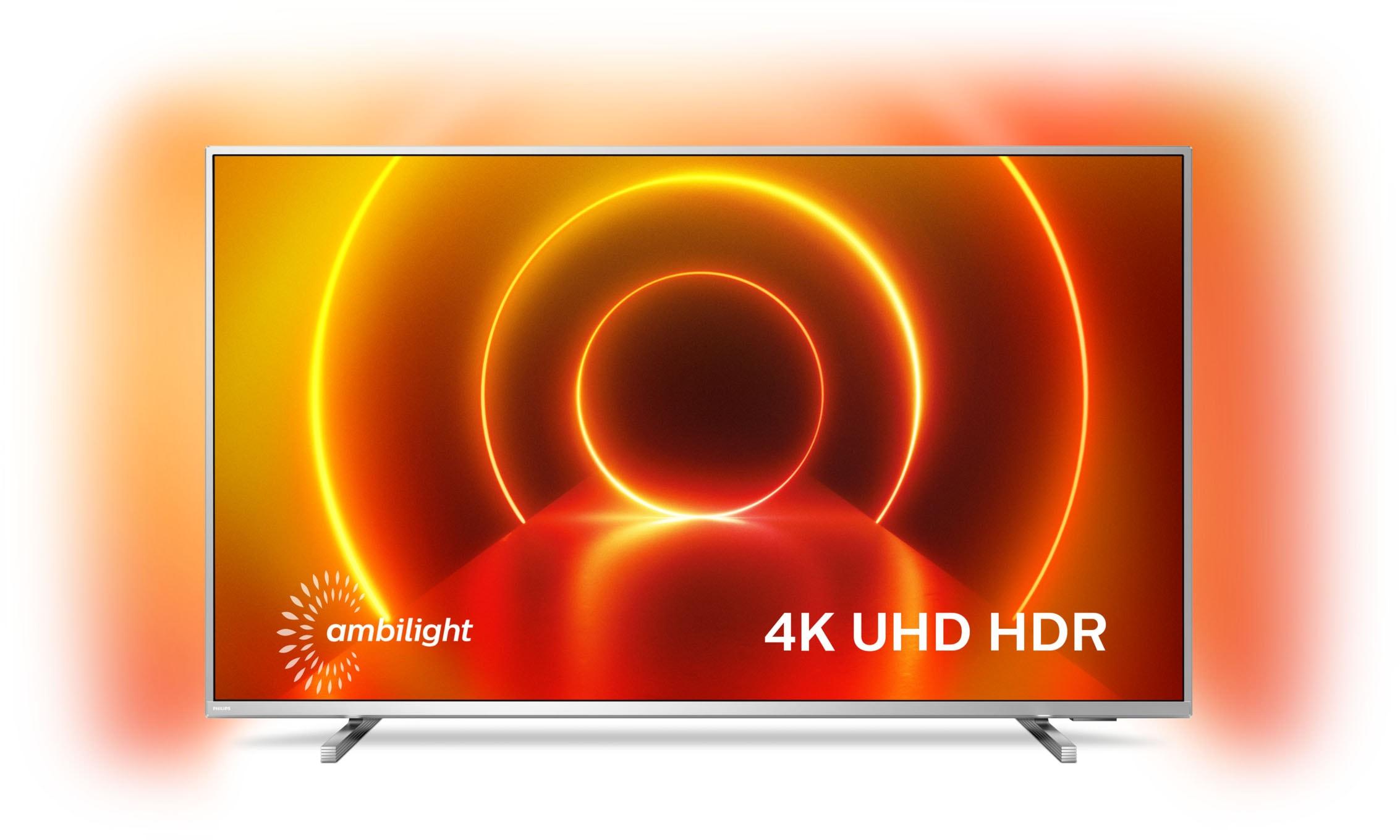 Philips LED-Fernseher 43PUS8105 12 , 108 cm 43 , 4K Ultra HD, Smart-TV, 3-seitiges Ambilght