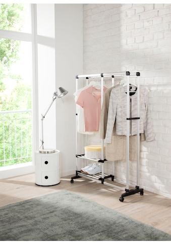 Ruco Kleiderständer, Aluminium/Kunststoff, mit Rollen kaufen
