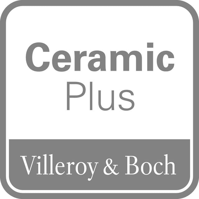 VILLEROY & BOCH Tiefspül-WC »O.novo«, bodenstehend, Weiß Alpin CeramicPlus