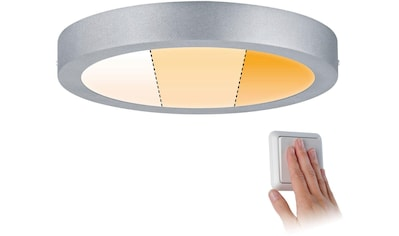 Paulmann LED Deckenleuchte »Carpo LED Panel Warmdimmfunktion 300 mm Chrom matt 16W Metall«, Warmweiß-Extra-Warmweiß, LED Deckenlampe kaufen