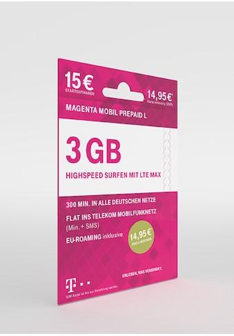 Telekom Prepaid-Karte kaufen