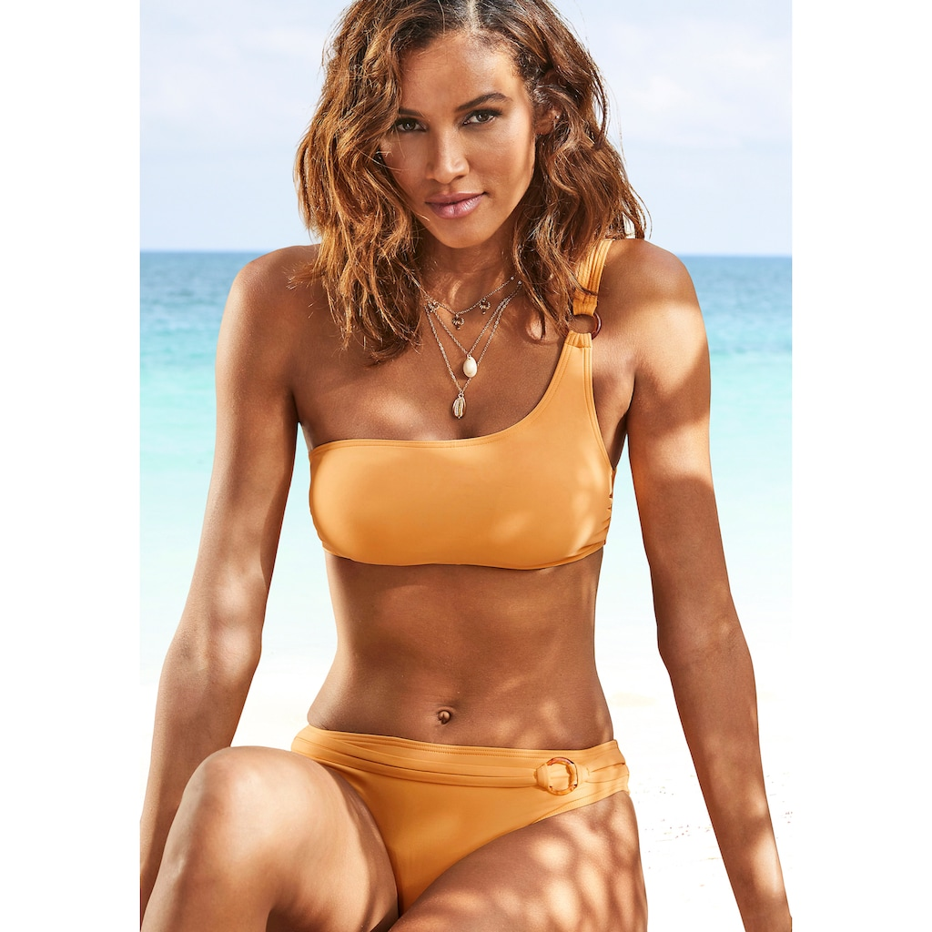 s.Oliver Bustier-Bikini-Top »Rome«, mit One-Shoulder-Form