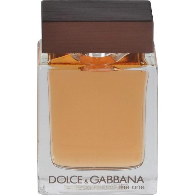"""DOLCE & GABBANA Eau de Toilette """"The One for Men"""""""