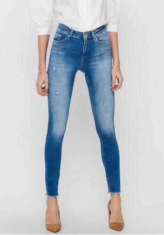 Only Skinny-fit-Jeans »ONLBLUSH«, mit Destroyed Effekten kaufen