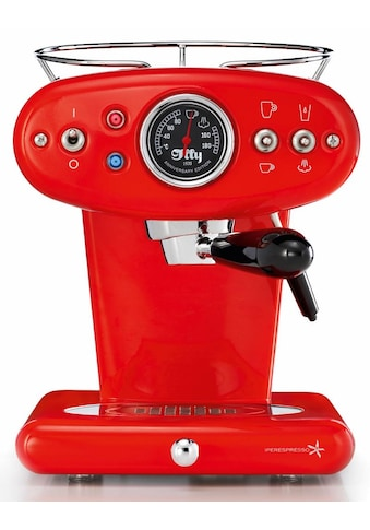 Illy Kapselmaschine »X1 Anniversary E&C«, rot kaufen