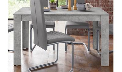 Homexperts Esstisch »Nitro«, Breite 140 cm kaufen