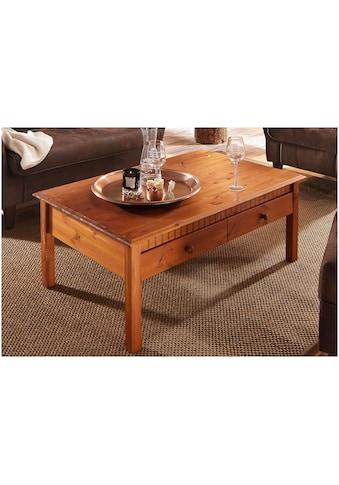 Home affaire Couchtisch, mit großer Schublade, Breite 110 cm kaufen