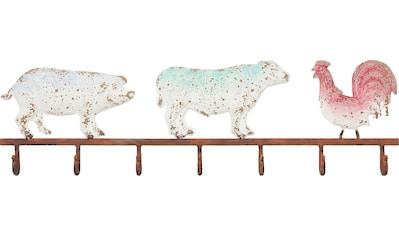 KARE Garderobenleiste »Farm Animals« kaufen